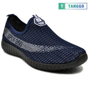 Tanggo Fashion Shoes Slip-On for Men FO8A (navy blue)