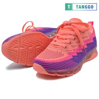 Tanggo Fashion Sneakers Rubber Shoes for Women A-728 (Peach)