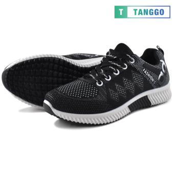 Tanggo Fashion Sneakers Women's Rubber Shoes 308A (black)