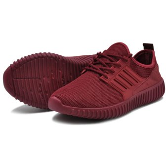 Tanggo Kathy Fashion Sneakers Women's Rubber Shoes (maroon) - 3
