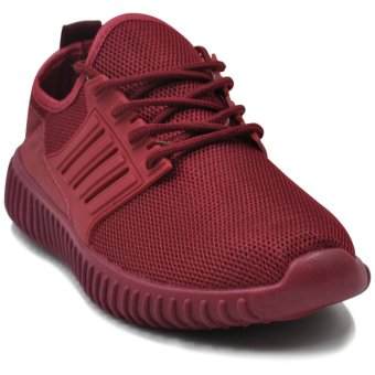 Tanggo Kathy Fashion Sneakers Women's Rubber Shoes (maroon)