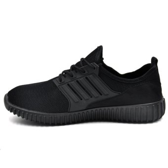 Tanggo Leo Fashion Sneakers Men's Rubber Shoes (black) - 2