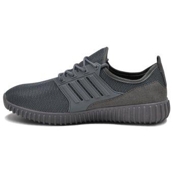 Tanggo Leo Fashion Sneakers Men's Rubber Shoes (grey) - 2
