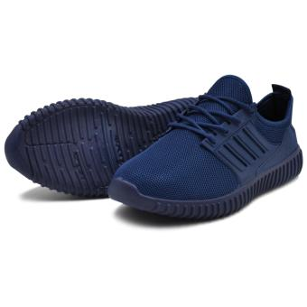 Tanggo Leo Fashion Sneakers Men's Rubber Shoes (navy blue) - 3