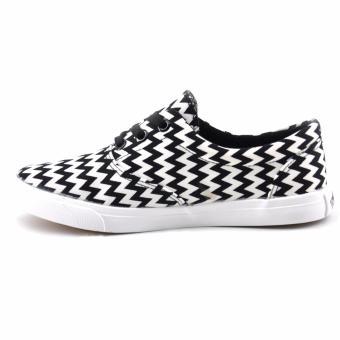 Tanggo Lewis Fashion Sneakers Men's Rubber Shoes (Black) - 2