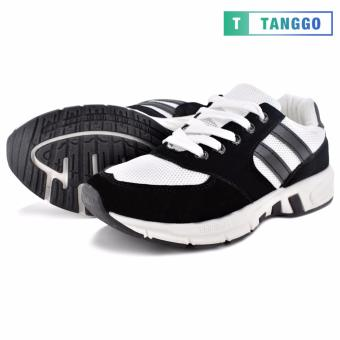 Tanggo Women's Sneakers Rubber Shoes B29 (black/white)