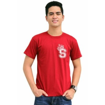 Tanshirts King's Initial S Tee (Maroon) Set of 6 - picture 2