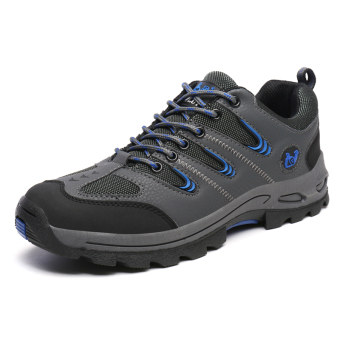 Tauntte Breathable Hiking Shoes Women Outdoor Sport Shoes Lady WalkShoes (Grey) Price Philippines