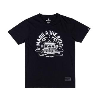 TEAM MANILA MANILA RIDE T-SHIRT (BLACK)
