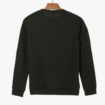 Tee Culture Boys Teens Sweatshirt (Dark Green) - 2