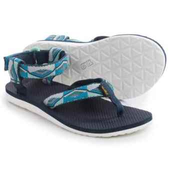 Teva Women's Original Sandal (Pyramid Blue)