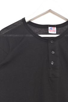 Tex-Cock Long Sleeves Camisa de Chino (Black) - 5