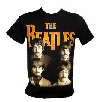 The Beatles Gold Logo T-shirt