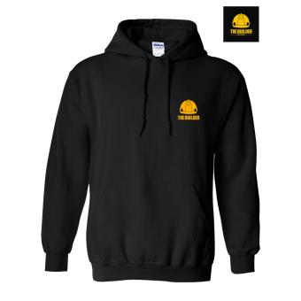The Builder Apparel 01 DO IT BETTER-HOODIE no zip-black Civil Engineering Hoodie by Xtreme Designs - 2