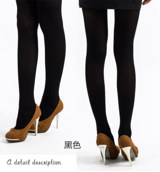 Through the meat Silk socks Spring and Autumn leggings (1761 black)