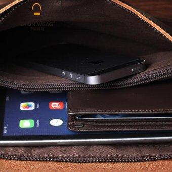 Tidog new men's hand bag tide IPAD clutch bag - intl - 4