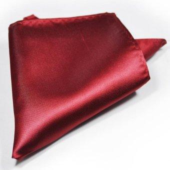 Tieline Pocket Square (Burgundy)