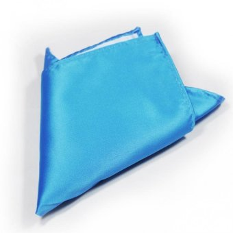 Tieline Pocket Square (Periwinkle)
