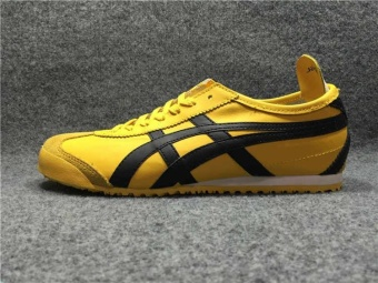 Tiger Loafer Walking Shoes Men's Arthur Tiger Sports Shoes RunningShoes MEXICO66 Shoes (yellow) - intl