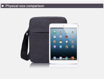 ... Tigernu Men Messenger Bag Waterproof Shoulder Bag Business Travel Casual Bag5102(Black Grey) -