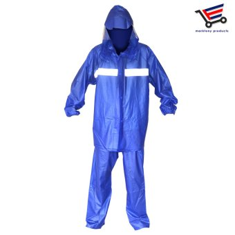 TM-912 Water Proof Rain Coat for Unisex (Dark Blue)