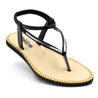 Tokkyo Serena Flat Sandals (Black) Price Philippines