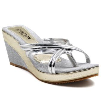 Tokkyo Shoes Cora SYP-63 Wedge Sandals (Silver) Price Philippines