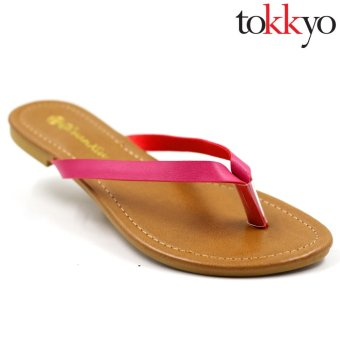 Tokkyo Shoes Women's Abree QX-8 Flat Sandals (Pink) Price Philippines