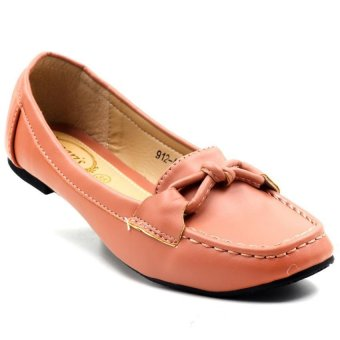 Tokkyo Shoes Women's Jessica 912-A100 Loafers Shoes (Pink)