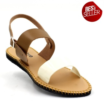 Tokkyo Wilma Flat Sandals (Brown)