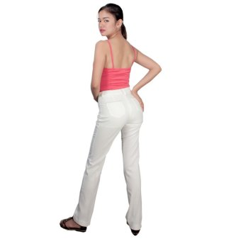Tomboy And Company Ladies' Spring Pants (Ivory) - 5