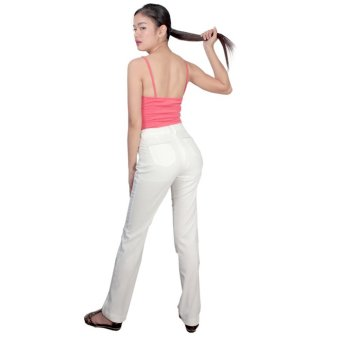 Tomboy And Company Ladies' Spring Pants (Ivory) - 2