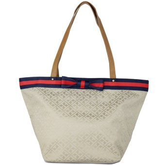 Tommy Hilfiger Bow Tote Bag (Champagne) - 2