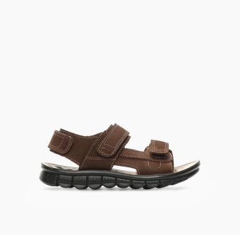 Tough Kids Boys Gael TK42 Sandals (Dark Brown)