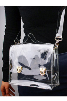Transparent Handbag Tote Cross Bag