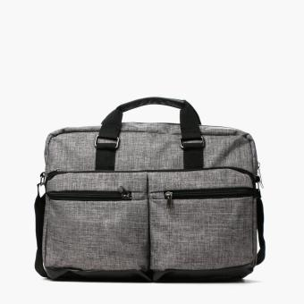 Travel Basic Mens Portb Messenger Bag (Dark Gray)
