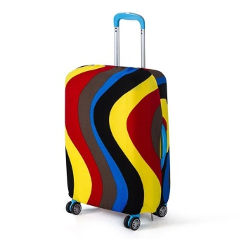 Travel Road Luggage Suitcase Trolley Case Protective Dustproof Cover Protector - intl