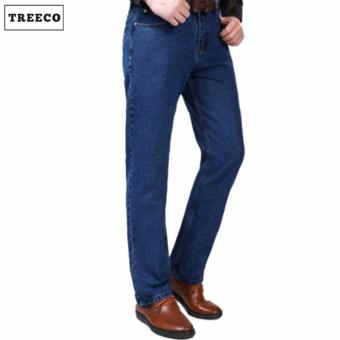 Treeco Men's Boulevard Denim Jeans (Blue)