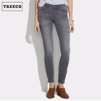 Treeco Women's Faded Glory Skinny Jeans (Gray)