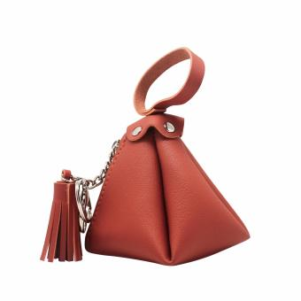 Triangle Tassel Pouch (Camel) Price Philippines