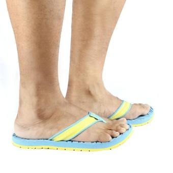 Tribu Outdoor Sandals Yakan (Aqua Blue/Yellow) - 4
