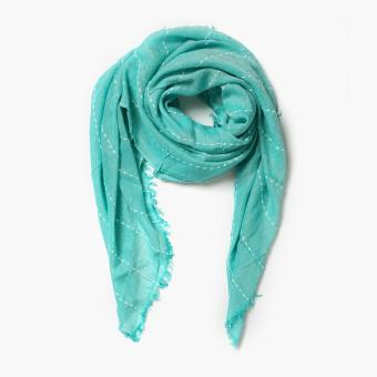 Tropiko by Kultura Pastel Scarf (Turquoise)