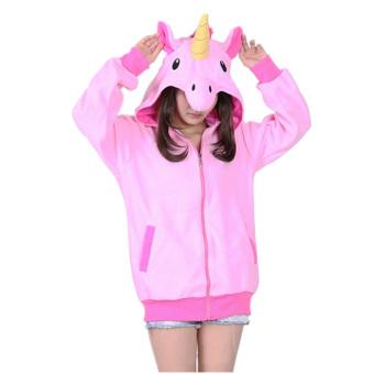 Ufosuit Animal Unicorn Hoodies Adult Hoody (Pink) - Intl - 2