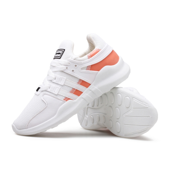 Ulzzang Korean-style New style students casual shoes sports shoes (White)