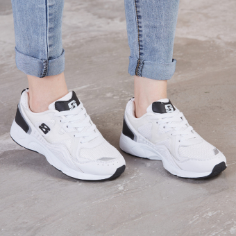 Ulzzang Korean version of female student running shoes sports shoes (White) Price in Philippines