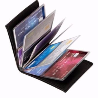 Unisex 24 Cards Wonder Wallet Amazing Slim RFID Wallets