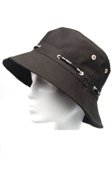 Unisex Adults Canvas Sun Protection Bucket Hat Cap Black Price Philippines