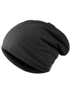 Unisex Casual Hip-hop Beanie Hat (Black)