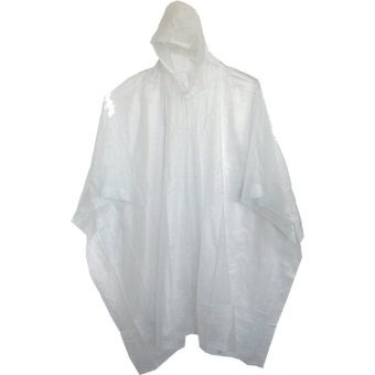 Unisex Fashion Portable Transparent EVA Easy Carried Rain Coat Wind Coat Heavy Duty Poncho Adult