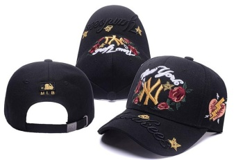 Unisex Hats MLB Lover Baseball Team Peaked Caps Snapbacks SportsNew York Yankees Caps Fashion Men Women Sunhat Hip-hop Girls NiceAll Code-One Size(White) - intl